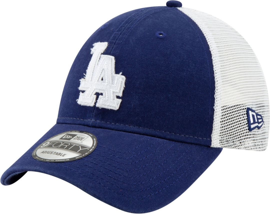 8734beb1 New Era Men's Los Angeles Dodgers 9Forty Team Trucker Adjustable Hat