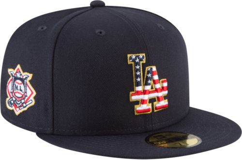 f823430cf07 New Era Men s Los Angeles Dodgers 59Fifty 2018 4th of July Fitted ...