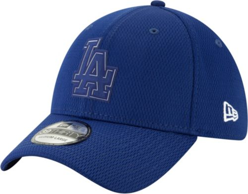 New Era Men s Los Angeles Dodgers 39Thirty Clubhouse Navy Stretch ... 767ff6bf0bf
