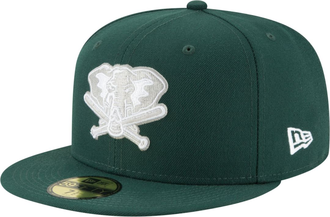 purchase cheap 38ce4 87b15 New Era Men s Oakland Athletics 59Fifty Cooperstown Green Fitted Hat.  noImageFound. Previous