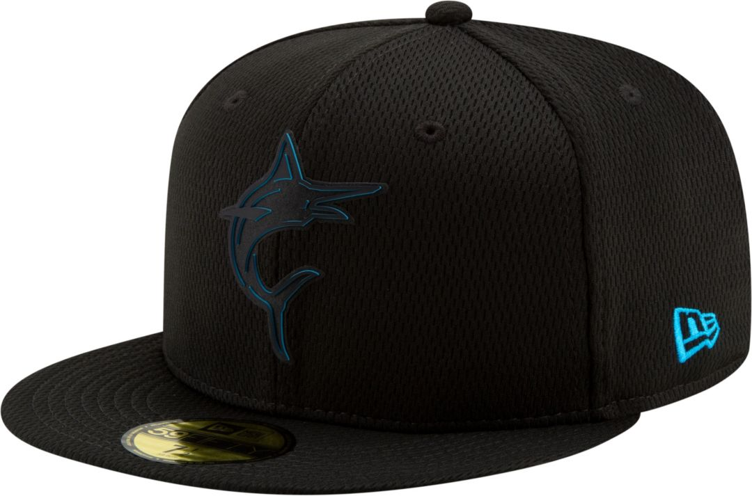 size 40 e0866 c26ea New Era Men s Miami Marlins 59Fifty Clubhouse Black Fitted Hat.  noImageFound. Previous