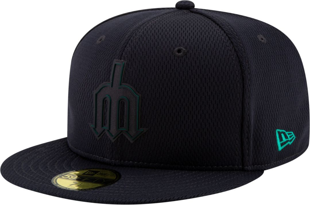 finest selection d5520 f98aa New Era Men s Seattle Mariners 59Fifty Clubhouse Navy Fitted Hat.  noImageFound. Previous. 1