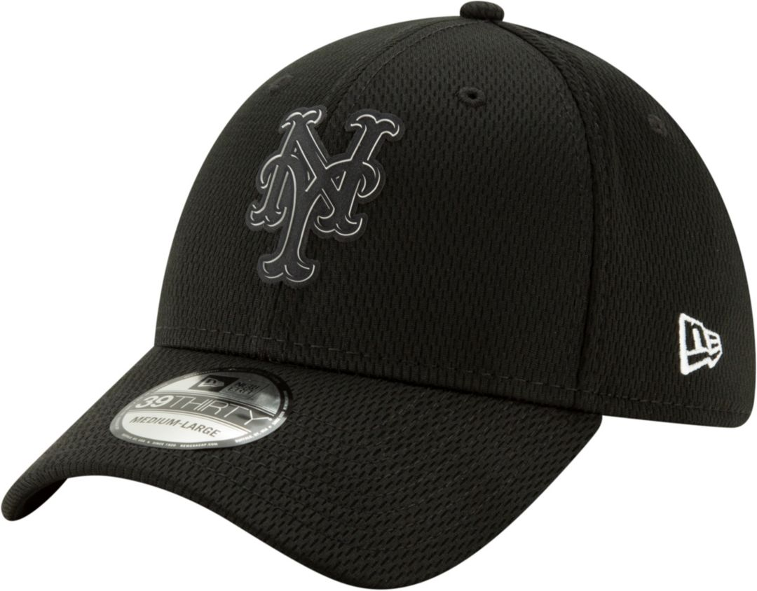 best loved 578b9 232bb New Era Men s New York Mets 39Thirty Clubhouse Black Stretch Fit Hat.  noImageFound. Previous