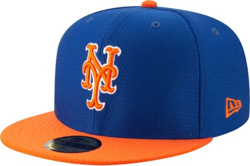 info for 75bfe fa45b New Era Men s New York Mets 59Fifty HexTech Batting Practice Fitted Hat.  noImageFound. Previous