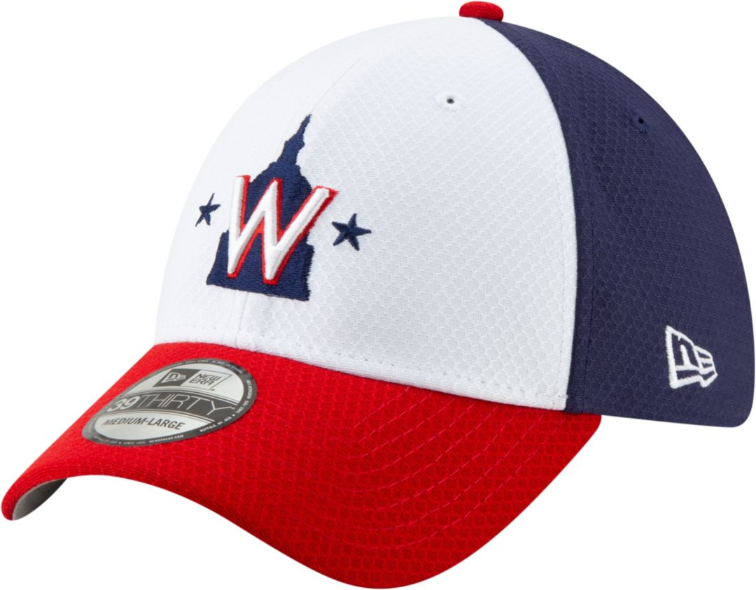 new styles 18aec f75de New Era Men s Washington Nationals 39Thirty HexTech Batting Practice  Stretch Fit Hat. noImageFound. Previous