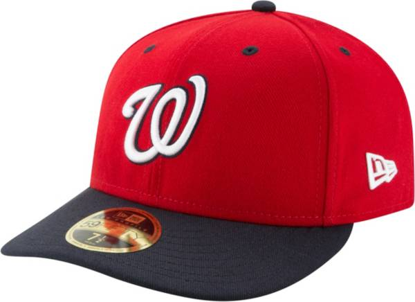 New Era Men's Washington Nationals 59Fifty Alternate Navy Low Crown Fitted Hat product image