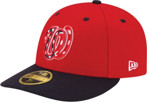 New Era Men s Washington Nationals 59Fifty Alternate Red Low Crown ... c4d3c0ac3ab