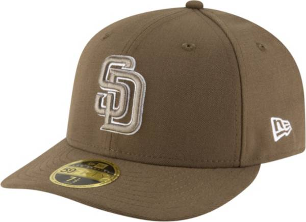 New Era Men's San Diego Padres 59Fifty Alternate Brown Low Crown Fitted Hat product image