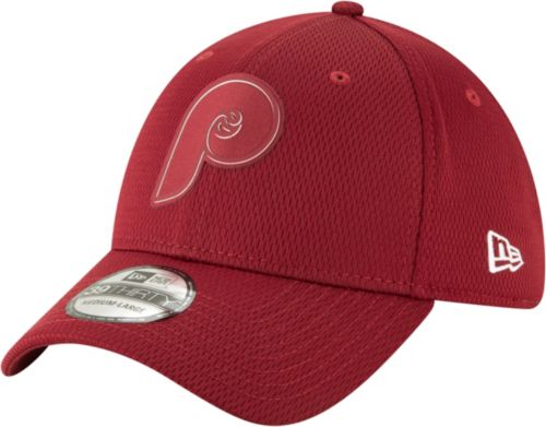 cf8c451a5f1a8 New Era Men s Philadelphia Phillies 39Thirty Clubhouse Maroon Stretch Fit  Hat. noImageFound. Previous. 1
