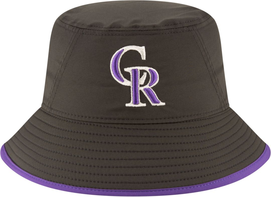size 40 92084 d0d55 New Era Men s Colorado Rockies Clubhouse Bucket Hat. noImageFound. Previous