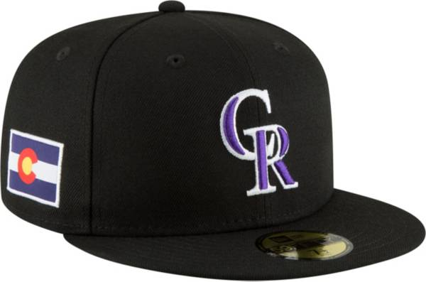 New Era Men's Colorado Rockies 59Fifty Fitted Hat w/ State Flag Patch product image