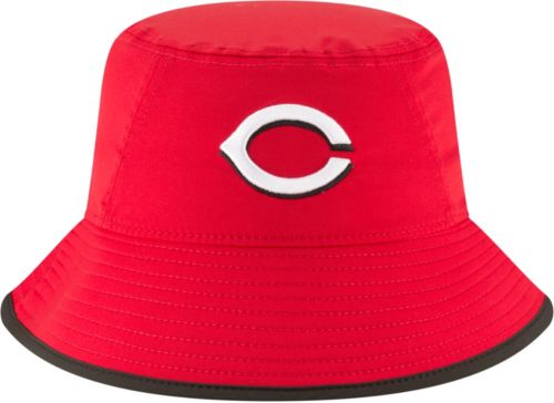 designer fashion 854d1 7cbbe New Era Men s Cincinnati Reds Clubhouse Bucket Hat. noImageFound. Previous.  1