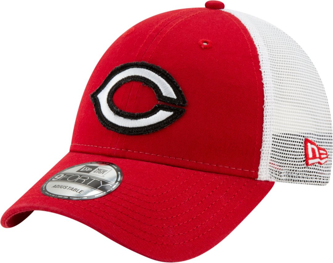 separation shoes 8e2d2 2234b New Era Men s Cincinnati Reds 9Forty Team Trucker Adjustable Hat.  noImageFound. Previous. 1