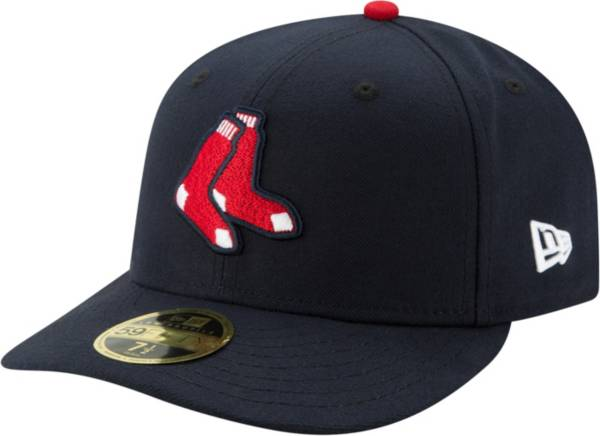 New Era Men's Boston Red Sox 59Fifty Alternate Navy Low Crown Fitted Hat product image