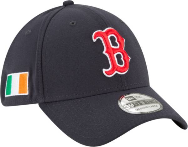 New Era Men's Boston Red Sox 39Thirty Stretch Fit Hat w/ Irish Flag Patch product image