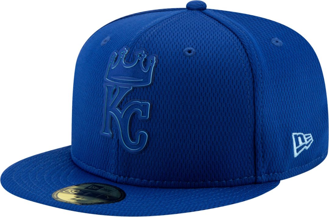 83106ee3 New Era Men's Kansas City Royals 59Fifty Clubhouse Royal Fitted Hat