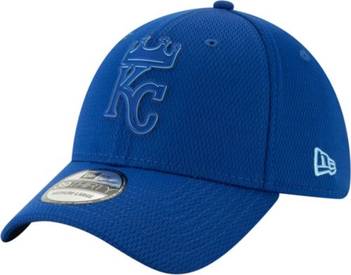 timeless design e9989 d41cd New Era Men s Kansas City Royals 39Thirty Clubhouse Royal Stretch Fit Hat.  noImageFound. Previous