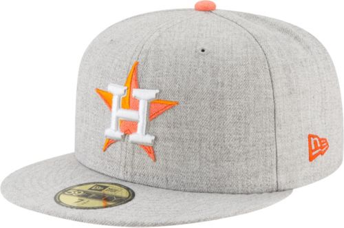 wholesale dealer fc634 7119d New Era Men s Houston Astros 59Fifty Heather Hype Fitted Hat. noImageFound.  Previous