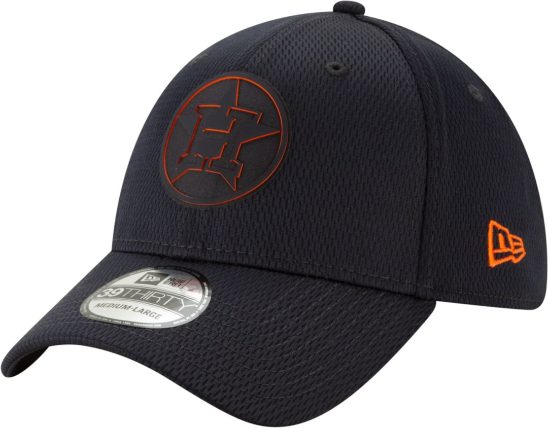 super popular a6ed6 06a10 New Era Men s Houston Astros 39Thirty Clubhouse Navy Stretch Fit Hat.  noImageFound. Previous