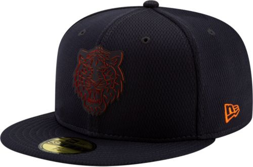917ce41f6a2 New Era Men s Detroit Tigers 59Fifty Clubhouse Navy Fitted Hat.  noImageFound. Previous