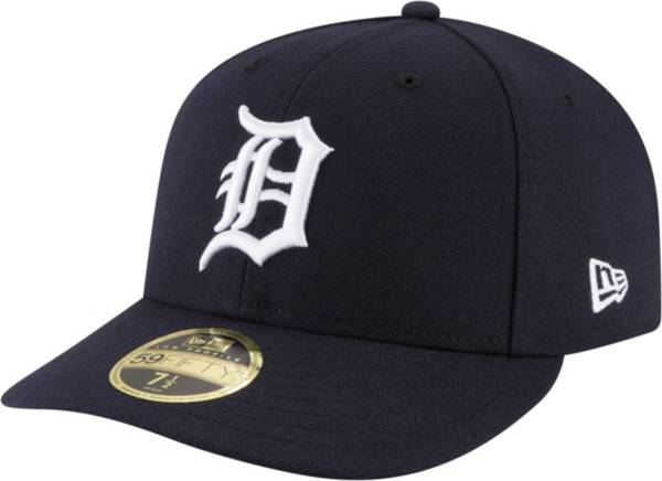 New Era Men's Detroit Tigers 59Fifty Road Navy Low Crown Fitted Hat product image