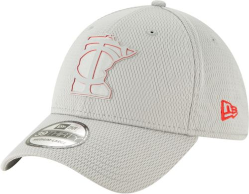 brand new b1780 ed3bc ... minnesota twins 39thirty clubhouse grey stretch fit hat. noimagefound.  previous