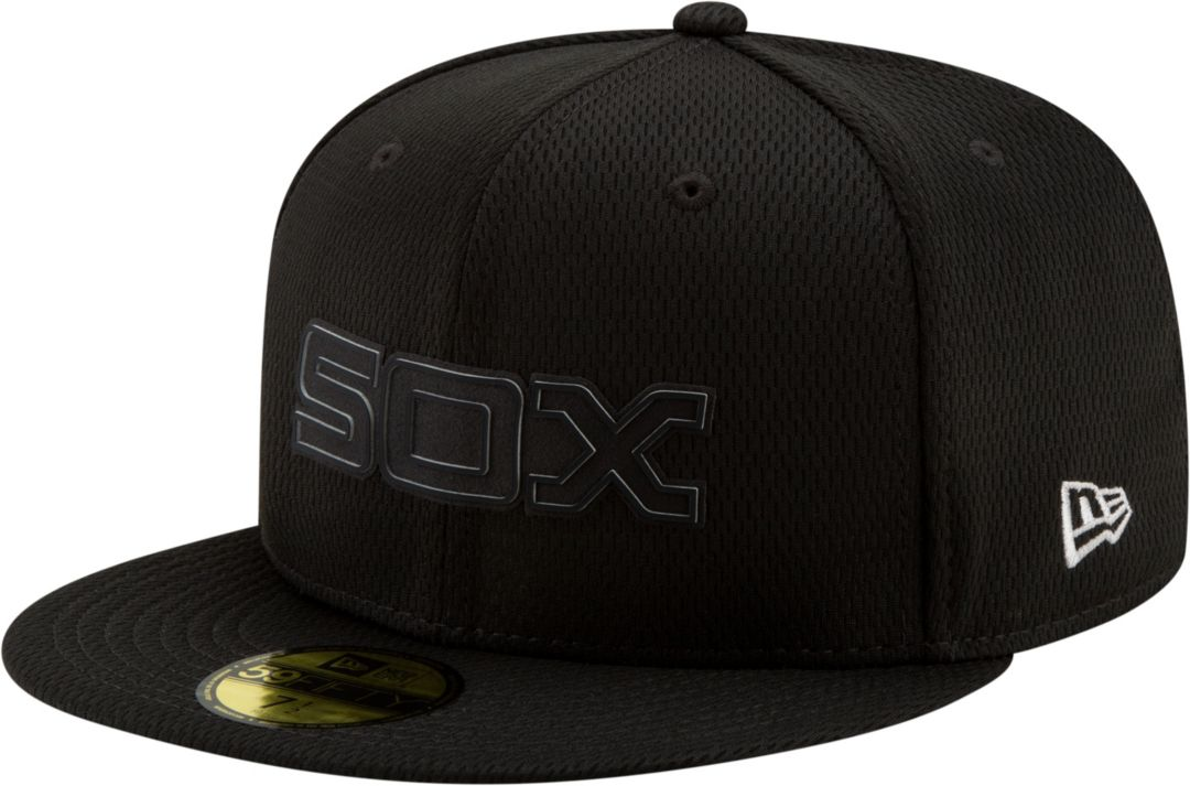 3aa0cdd1 ... White Sox 59Fifty Clubhouse Black Fitted Hat. noImageFound. Previous