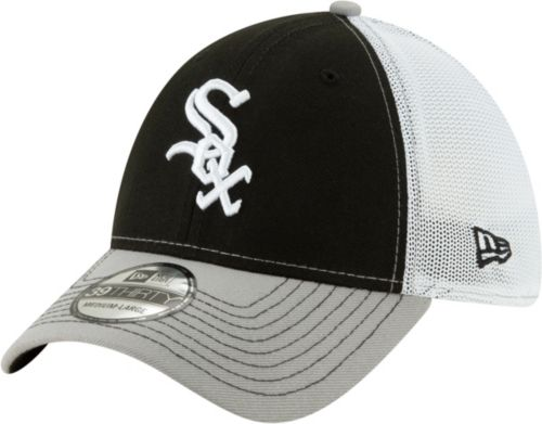 New Era Men s Chicago White Sox 39Thirty Practice Piece Stretch Fit ... 0b0ccd0933b5