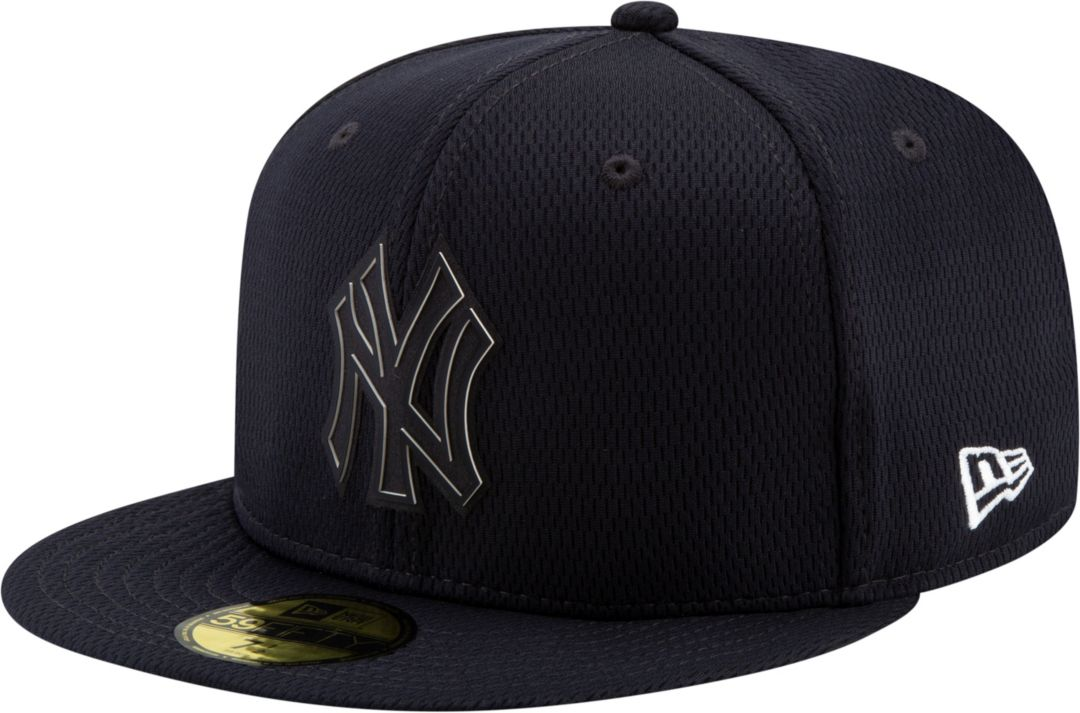 bb47e2c012d2c9 New Era Men's New York Yankees 59Fifty Clubhouse Navy Fitted Hat.  noImageFound. Previous