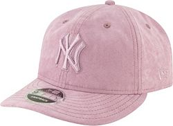 7ad6c9e32fc9c New Era Men's New York Yankees 9Fifty Suede Retro Pink Adjustable ...