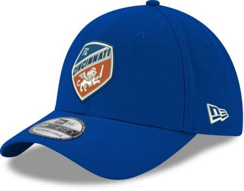 new concept a61e9 fa24d ... shop new era mens fc cincinnati 39thirty logo blue stretch fit hat  1f028 98603