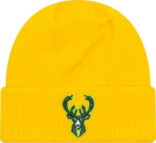 f81be058c648 New Era Men s Milwaukee Bucks City Edition Knit Hat. noImageFound.  Previous. 1