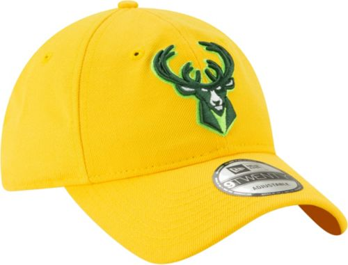 3ec2c9c58bac New Era Men s Milwaukee Bucks 9Twenty City Edition Adjustable Hat.  noImageFound. Previous. 1