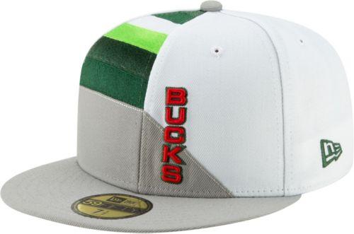 c1edb6e4105 New Era Men s Milwaukee Bucks 59Fifty Earned Edition Fitted Hat ...