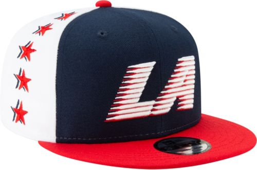 brand new 88b60 29941 New Era Men s Los Angeles Clippers 9Fifty City Edition Adjustable Snapback  Hat