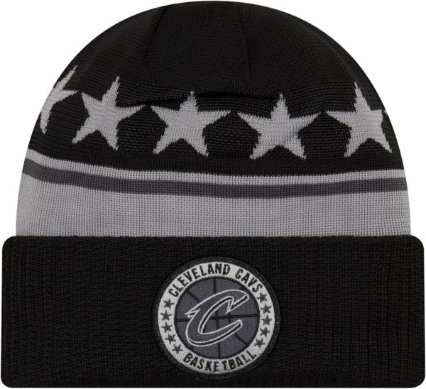 New Era Men's Cleveland Cavaliers On-Court Knit Hat product image