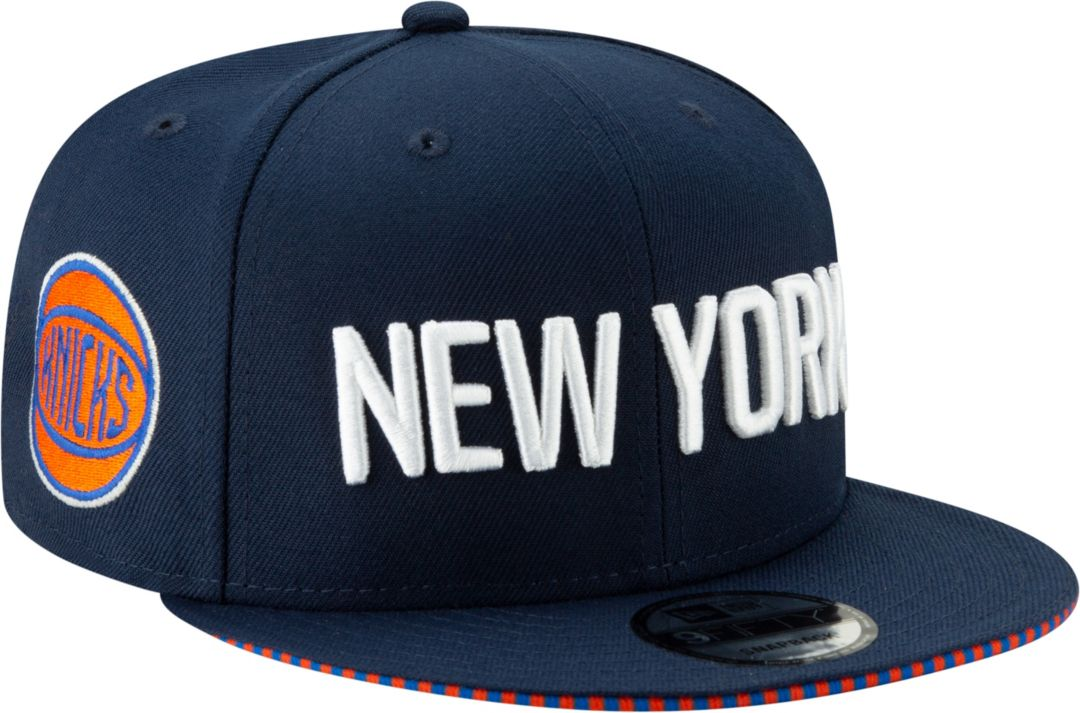detailed look 8e834 c1ad1 ... New York Knicks 9Fifty City Edition Adjustable Snapback Hat.  noImageFound. Previous. 1