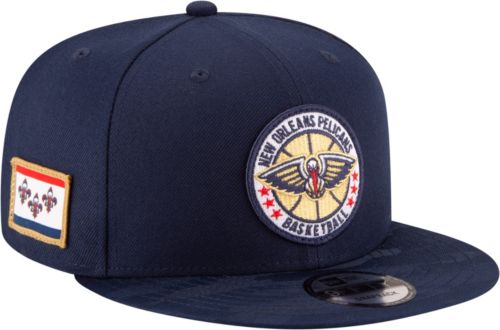 dae55791558 New Era Men s New Orleans Pelicans 9Fifty On-Court Adjustable Snapback Hat
