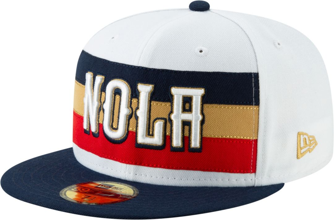 huge selection of 5ce8d 9b297 New Era Men s New Orleans Pelicans 59Fifty Earned Edition Fitted Hat.  noImageFound. Previous