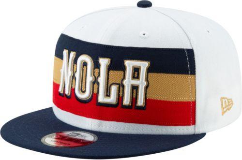 d29c28c79b8e4 New Era Men s New Orleans Pelicans 9Fifty Earned Edition Adjustable Snapback  Hat