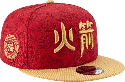 check out 89a1c b8860 New Era Men s Houston Rockets 9Fifty City Edition Adjustable Snapback Hat