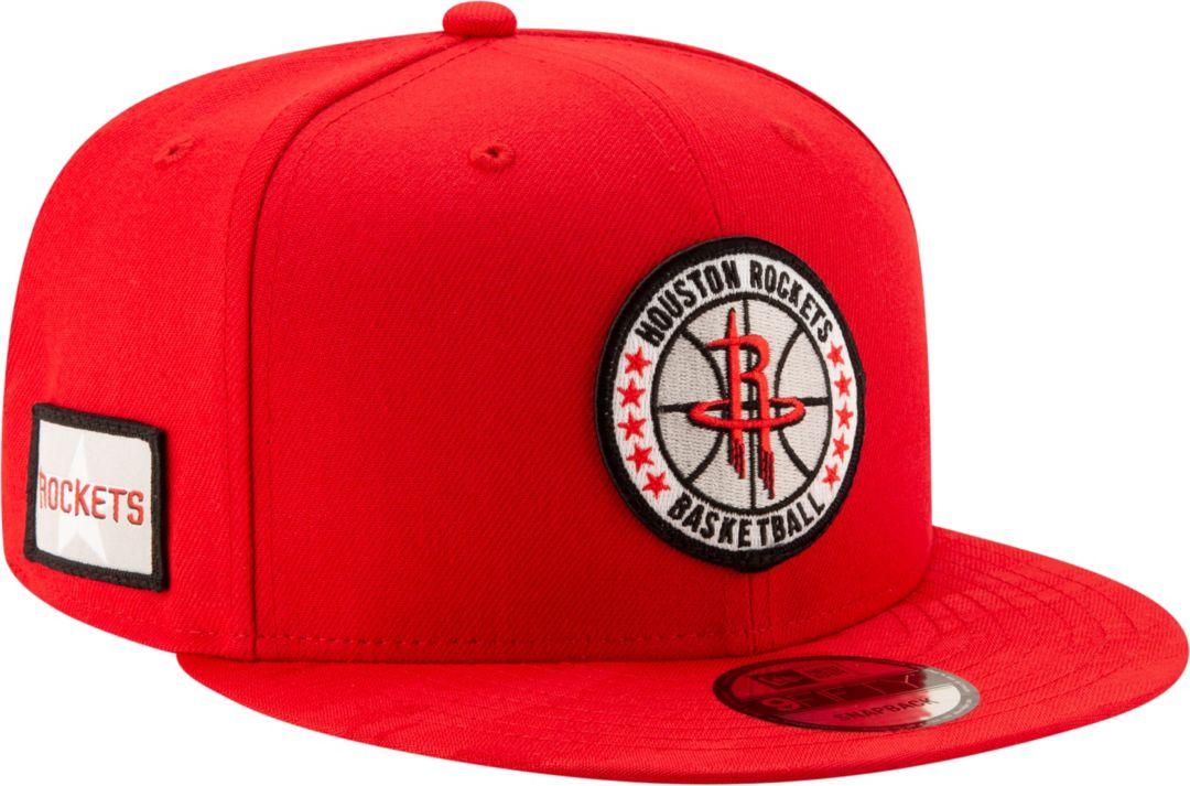 611c2f521d6a5 New Era Men's Houston Rockets 9Fifty On-Court Adjustable Snapback Hat.  noImageFound. Previous. 1. 2. 3