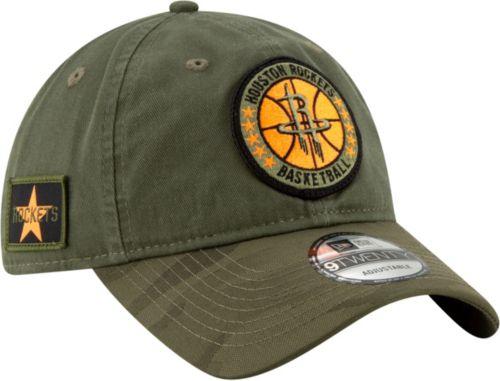101746eb45b5 New Era Men s Houston Rockets 9Twenty On-Court Camo Adjustable Hat.  noImageFound. Previous