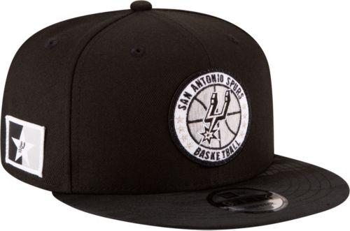 buy online 18fd3 3f151 New Era Men s San Antonio Spurs 9Fifty On-Court Adjustable Snapback Hat    DICK S Sporting Goods