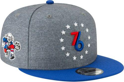 3f2c19047ff New Era Men s Philadelphia 76ers 9Fifty City Edition Adjustable ...