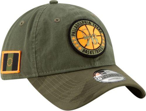 010a21a41 New Era Men s Philadelphia 76ers 9Twenty On-Court Camo Adjustable Hat.  noImageFound. Previous