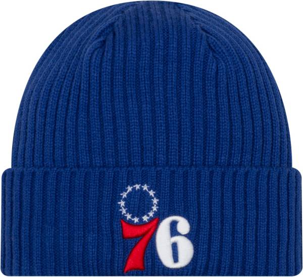 New Era Men's Philadelphia 76ers Core Classic Knit Hat product image