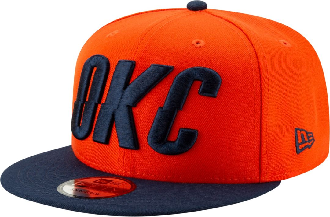 online retailer 011f9 f6d10 New Era Men s Oklahoma City Thunder 9Fifty Earned Edition Adjustable  Snapback Hat. noImageFound. Previous
