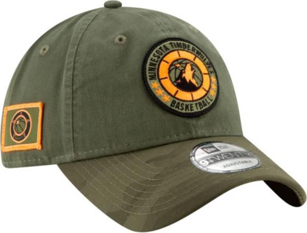 New Era Men's Minnesota Timberwolves 9Twenty On-Court Camo Adjustable Hat product image