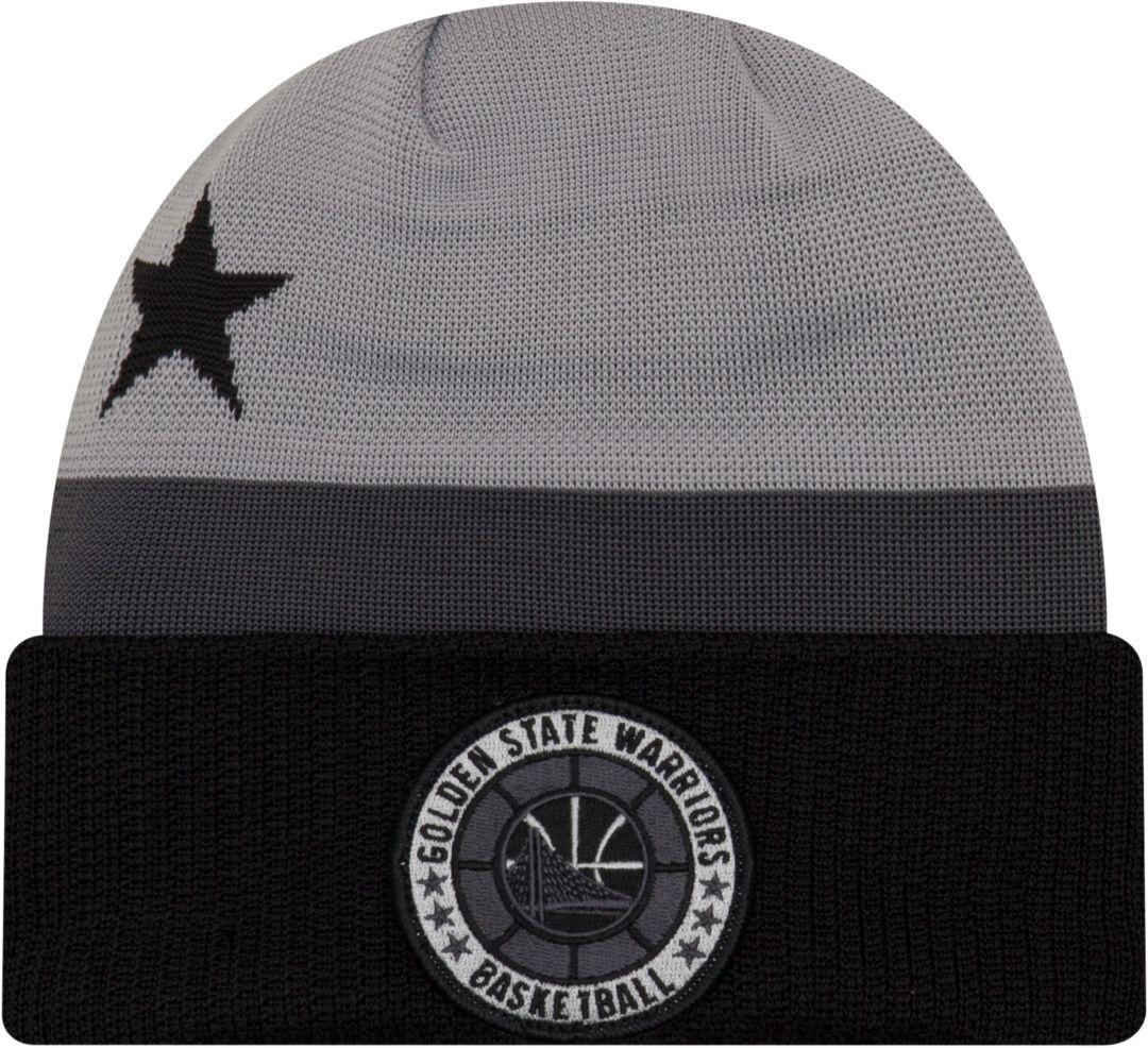 885756d56 New Era Men's Golden State Warriors On-Court Knit Hat